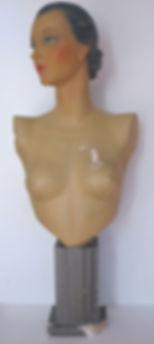 Siegel buste mannequin restauration poupée hcarestauration objets d'art toulouse
