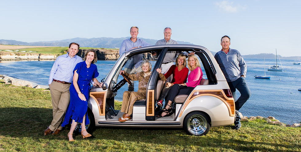 Pictue of four generations of San Carlos Agency owership