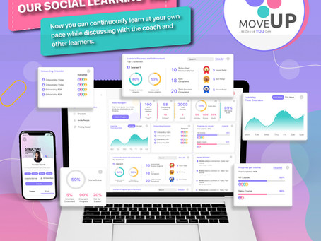 Social Learning now on MoveUp