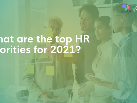 What are the top HR priorities for 2021?