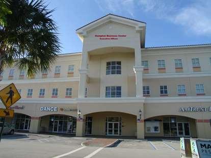 Outside the Office Building in Pembroke Pines, FL