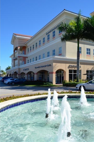 Entrance and Exit to Office Building in Pembroke Pines, FL