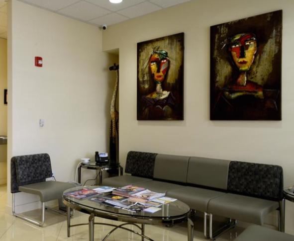 Lobby Area 1 in Pembroke Pines, FL