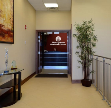 Entrance to Reception Area & Greeting Desk in Pembroke Pines, FL
