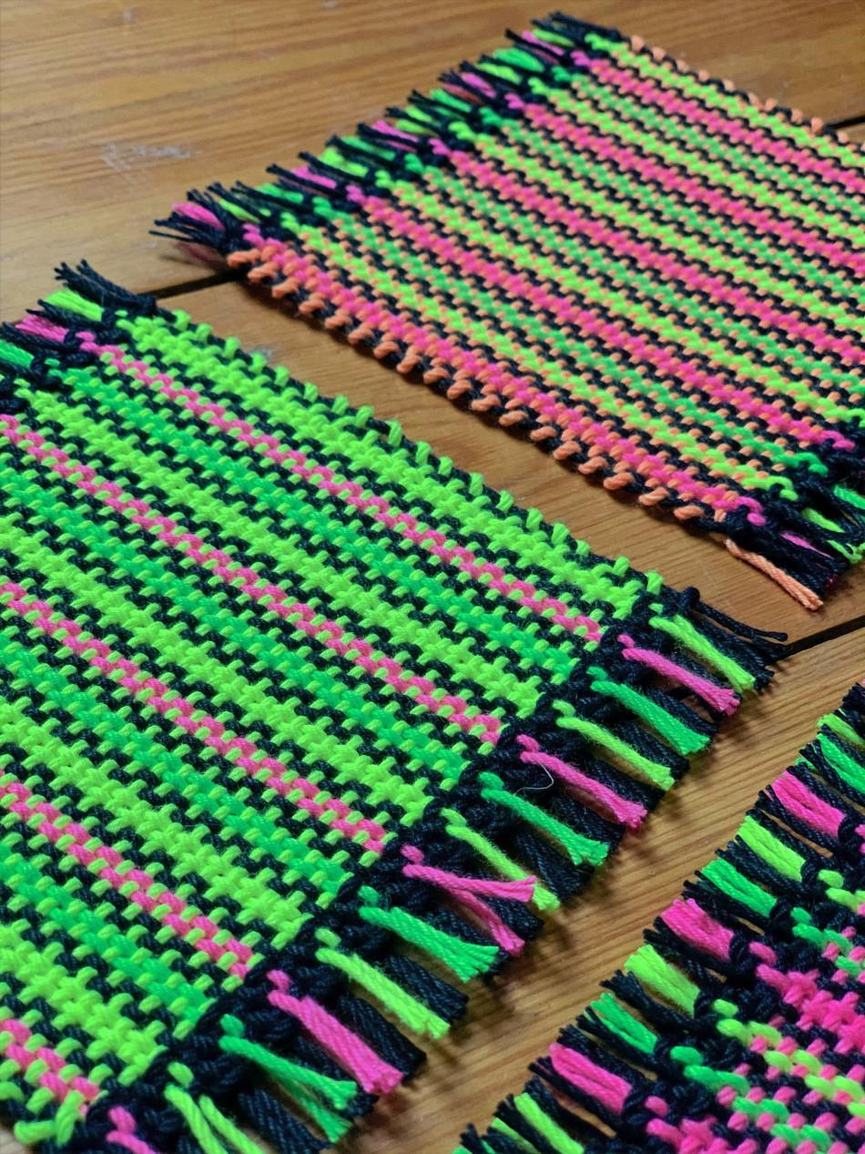 Neon Coasters