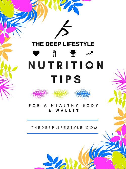 Nutrition Tips E-Book