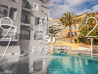 Модная коллаборация Byblos by Goyard в честь юбилея самого известного отеля Сен-Тропе