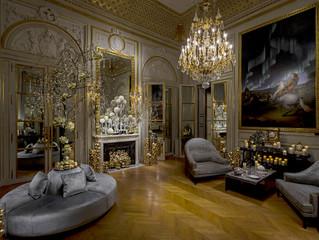 Новый год и бутик-кондитерская в Hotel de Crillon, a Rosewoood Hotel в Париже