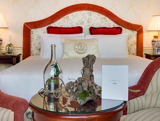 Pop up suite от Дома Шампанских вин Maison Ruinart  в отеле Metropole Monte-Carlo