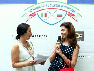 Вручение призов от GB Hotels победителям Italian Golf & Glamour Invitational