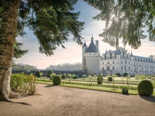 На вертолёте из Парижа в замок Шенонсо с Hôtel de Crillon,  a Rosewood Hotel