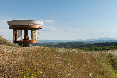 Арт-объект, в котором можно жить: микро-дом Casa Ojalà в отеле Rosewood Castiglion del Bosco