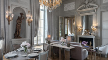 Луи Бернстайн, Мария-Антуанетта и Людовик XV: исторические и дизайнерские сьюты в Hôtel de Crillon