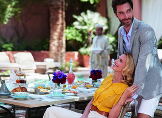 Ресторан-сад Le Jardin в королевском отеле Royal Mansour Marrakech в Марокко открывает новый сезон