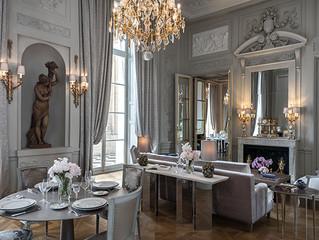Что общего? Мария-Антуанетта, Мадонна, Чарли Чаплин в Hôtel de Crillon, A Rosewood Hotel