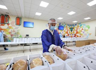 Команда ROYAL MANSOUR MARRAKECH готовит и доставляет обеды в больницу CHU в Марракеше