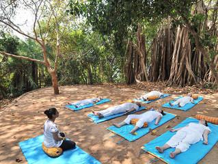 Санкальпа и практика осознанности – рассказывают йога учителя Kalari Rasayana, Индия