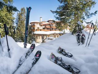 Бегом на лыжах в Куршевеле – новый вид зимнего досуга в отеле les Airelles