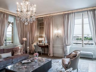 Сьюты Карла Лагерфельда в отеле Hôtel de Crillon, A Rosewood Hotel