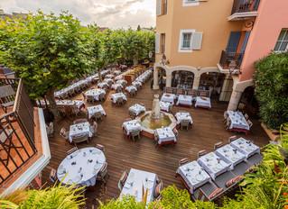 Легендарный отель Byblos в Сен-Тропе открывает новый ресторан