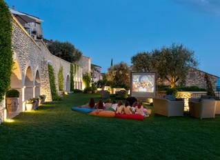 Кинофестиваль под открытым небом в отеле Airelles Gordes, La Bastide, Горд, Прованс