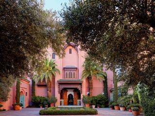 Шедевры мавританской архитектуры: «Гранд» риад в отеле Royal Mansour Marrakech