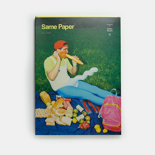 Same Paper Magazine: Issue 10000 / Same Studio