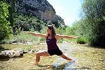 escalada y yoga sierra de guara