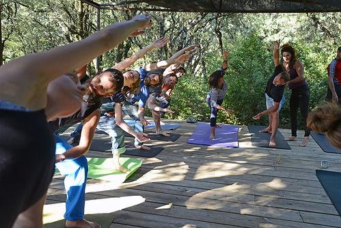 escalada y yoga rodellar