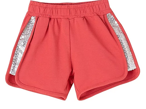Shorts with Sequin Side Panels