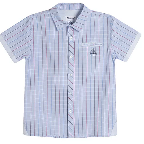 Junior Boys Blue Shirt