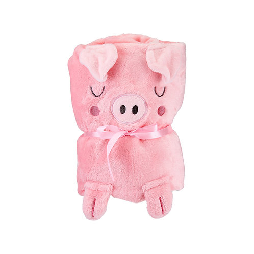 Sass & Belle Oink The Piglet Blanket