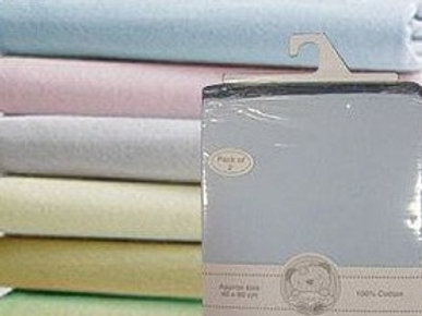 Jersey Fitted Pram Sheets