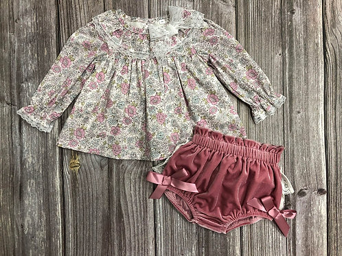 "AURORA ROYAL "" SPERANCA"" GORGEOUS BLOUSE&BLOOMERS SET"