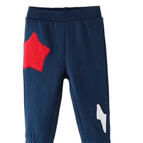 Star and Lightening Flash Joggers