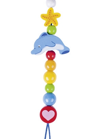 Soother Chain Dolphin
