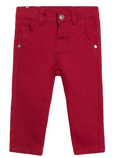 Burgundy Jeans ( Top sold separately )