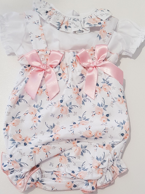 Little Nosh Floral Romper and Blouse
