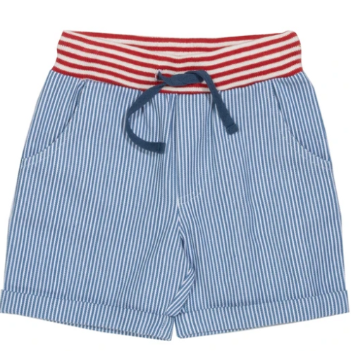 Mini Ticking Shorts