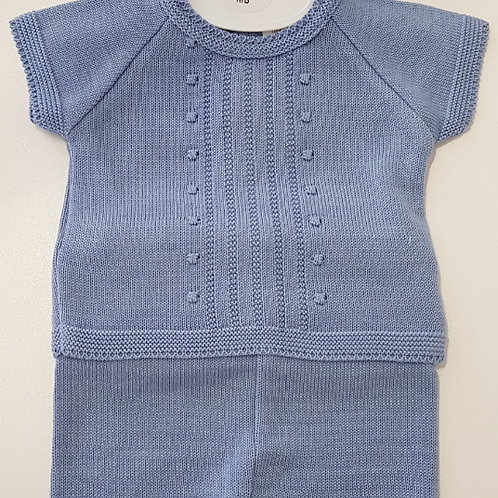 Little Nosh knitted Short and Top Set