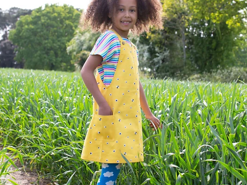 Honey Bee Pinafore (Top Sold Separately)