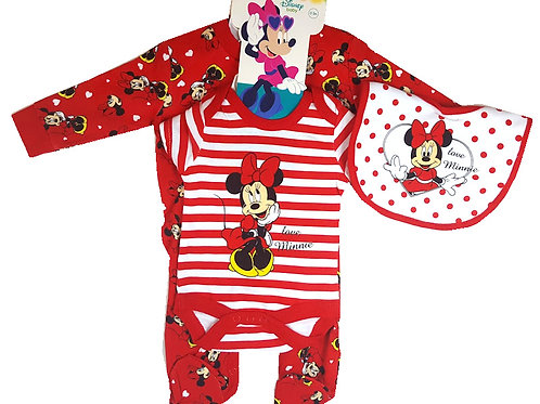 Minnie Mouse Layette Set