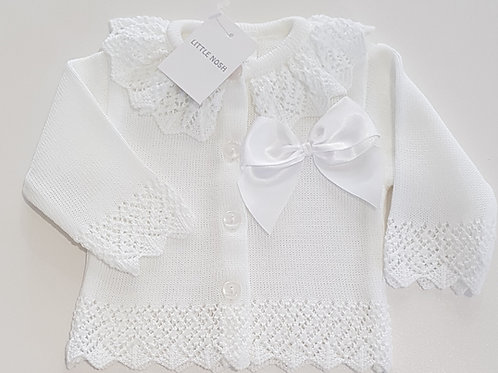 Little Nosh Cardigan with Bow
