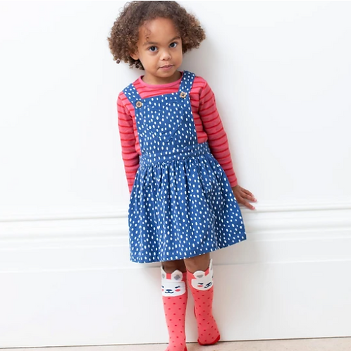 Speckled Heart Pinafore
