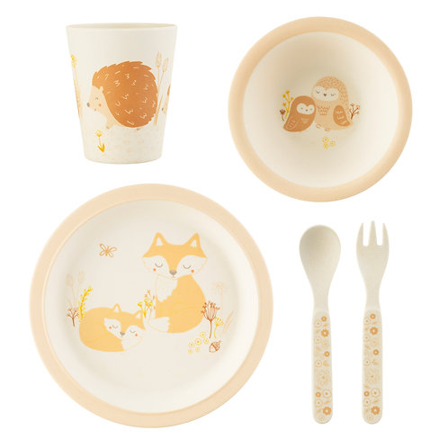 Sass & Belle Woodland Baby Bamboo Tableware