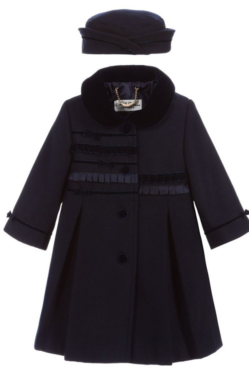Sarah Louise Coat with Matching Hat