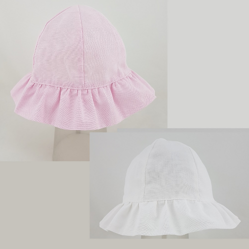 Baby Girl's Plain Cloche Hat