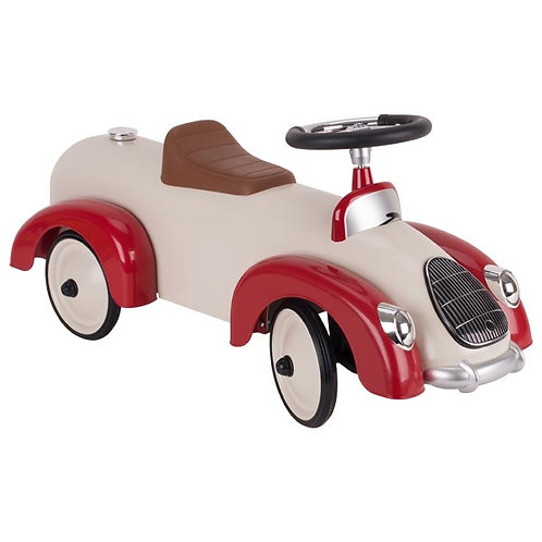 Red and Cream Ride on Car