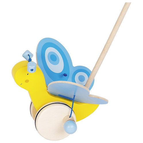 Butterfly Push Along Toy