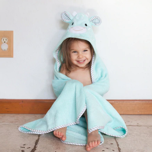 Cotton Baby Hooded Towels - Jamie the Giraffe
